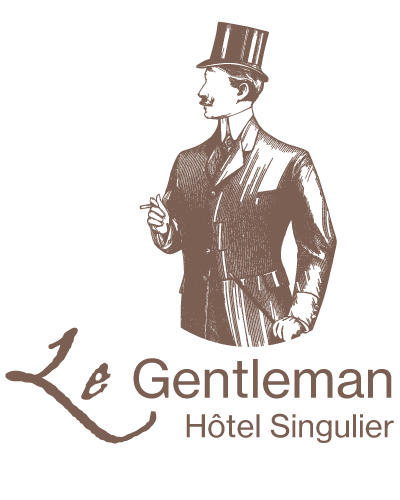 Hôtel Le Gentleman logo vertical